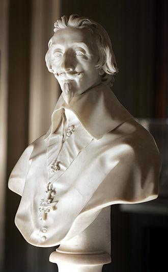Bust of Cardinal Richelieu - Image: Richelieu le Bernin M.R.2165 mp 3h 9004