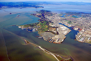 Richmond California aerial view with bridge.jpg