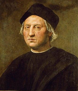 Beatriz Enríquez de Arana - Posthumous portrait of Christopher Columbus by Ridolfo Ghirlandaio