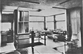 maison schrder tage avec les parois repousses 1924