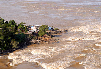 Madeira River - Rapids of Teotônio before 2012