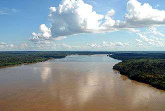 Madeira River - The river in the outskirts of Porto Velho