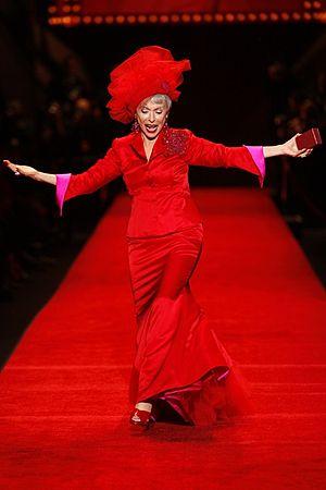 Rita Moreno at The Heart Truth Fashion Show 2008