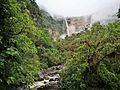 Riu Gocta i segona caiguda de la catarata.jpg