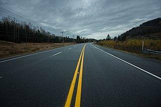 Road barrier effect