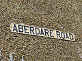 Road name sign, Aberdare Road, Enfield - geograph.org.uk - 1201833.jpg