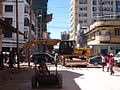 Road reconstruction for Bus Rapid Transit system.JPG