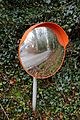 Roadside traffic mirror in Nuthurst, West Sussex, England.jpg