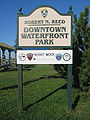 Robert N. Reed Downtown Waterfront Park Sign 1.jpg