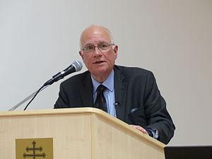 Robin Harris (author) - Robin Harris helding lecture in Danube Institute