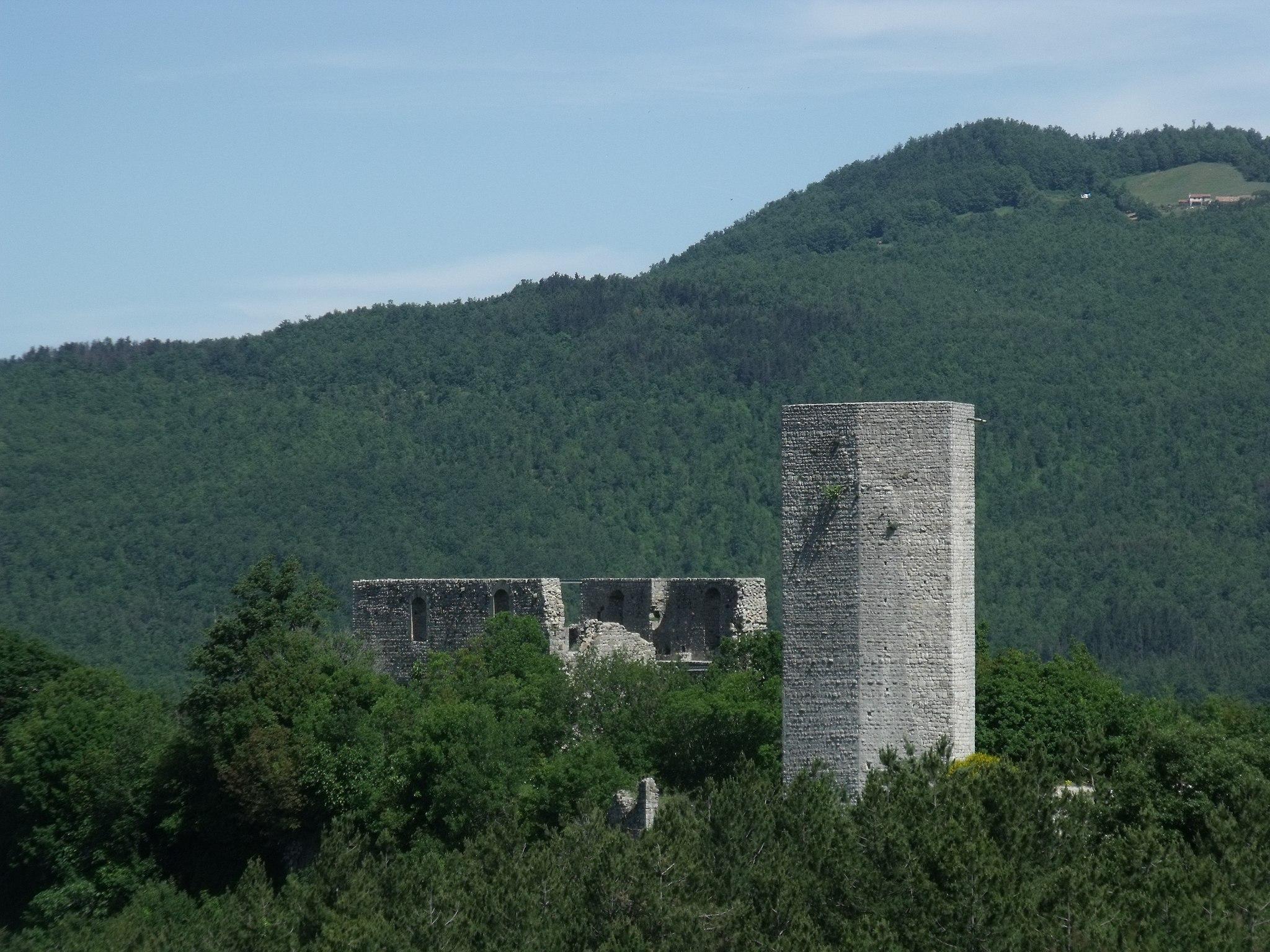 La Rocca Silvana, Selvana| Castell'Azzara