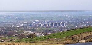 Rochdale - Rochdale lies in the wide valley of the River Roch