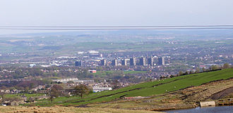 Rochdale - Rochdale lies in the wide valley of the River Roch