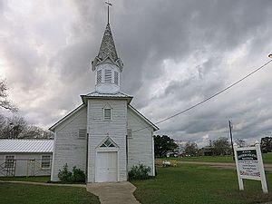 Rock Island, Colorado County, Texas - Image: Rock Island TX Iglesia