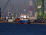 Rodau (ship, 2004), IMO 9313656, MMSI 304628000, Callsign V2OP3, Port of Antwerp.JPG