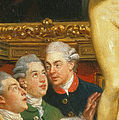 Roger Wilbraham et al - Detail from Johan Zoffany - Tribuna of the Uffizi - Google Art Project.jpg