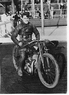 Roland Stobbart British International Speedway Rider