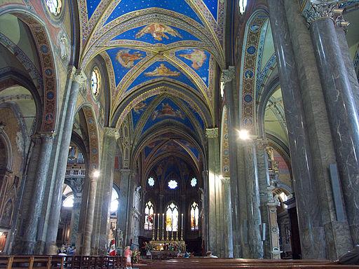 Rome-Santa Maria sopra Minerva-Interior1