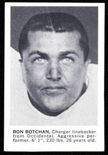 Ron Botchan American football player, coach, and official