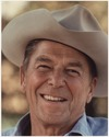 Ronald Reagan with cowboy hat 12-0071M original.tif