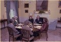 Rosalynn Carter hosts a luncheon for Kirk Douglas and Ann Douglas and their guests. - NARA - 178367.tif