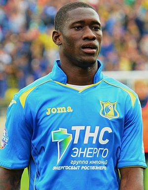 Bastos (Angolan footballer) - With FC Rostov in 2014