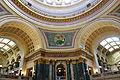Rotunda corner - Wisconsin State Capitol - DSC03108.JPG