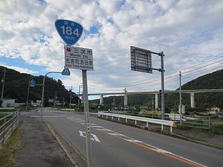 Japan National Route 184