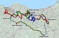 Route Vuelta al Pais Vasco 2011.png