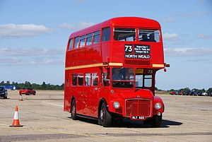 Routemaster RM822 (WLT 822), 2010 North Weald bus rally.jpg