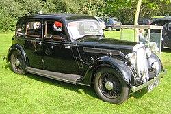 Rover 12 ca 1937 Castle Hedingham 2008.JPG