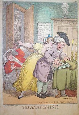 Rowlandson - The Anatomist