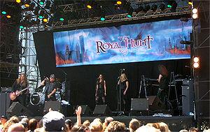 スウェーデンロックフェスティバルにて(2008年)