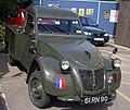 Royal Marines, Helicopter Portable, Citroen 2CV (4919798686).jpg
