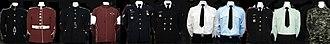 Royal Military College Saint-Jean - RMC Saint-Jean uniforms