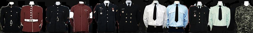 Royal Military College of Canada uniforms