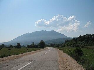 Rtanj Mountain in eastern Serbia