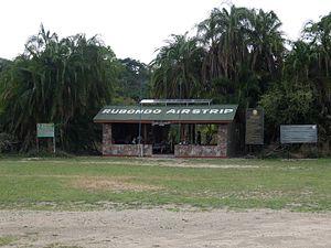 Rubondo Island National Park - Rubondo Airstrip lounge