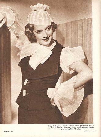 Ruby Keeler - Keeler in Footlight Parade (1933)