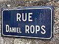 Rue Daniel Rops (Belley), panneau de rue.jpg