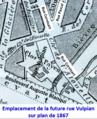 Rue Vulpian sur plan de 1867.png