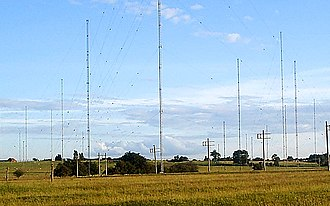 Imperial Wireless Chain - Image: Rugby radio masts