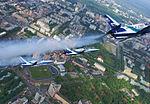 Rus Aero L-39Cs in flight over Perm.jpg