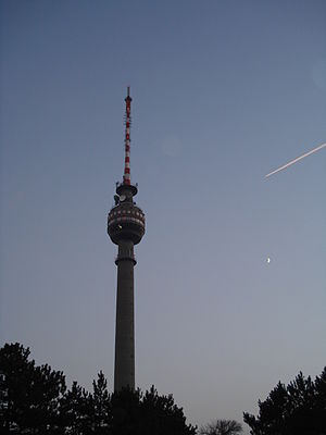 Rousse TV Tower - Ruse, Bulgaria - TV and Radio Broadcasting Tower