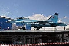 Russian Air Force, Mikoyan-Gurevich MiG-35 (36560501703).jpg