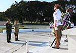Russian Defence Minister visited tank division Revolutionary Armed Forces of Cuba and laid a wreath to the Soviet soldiers-internationalists memorial 02.jpg