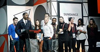 Fruitvale Station - Ryan Coogler accepts the U.S. Grand Jury Prize: Dramatic with the crew at the 2013 Sundance Film Festival.