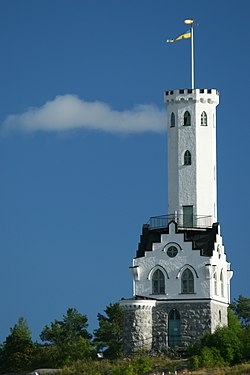 Oscar's tower in Söderhamn