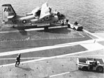 S-2D Tracker of VS-34 on USS Randolph (CVS-15) in 1966.jpg