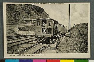 S. Paulo Railway Co. Planos Inclinados. - Serra. uma Viagem em Movimento